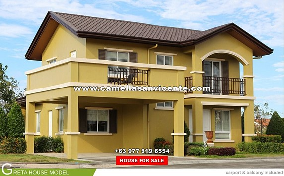 Camella San Vicente House and Lot for Sale in San Vicente Philippines