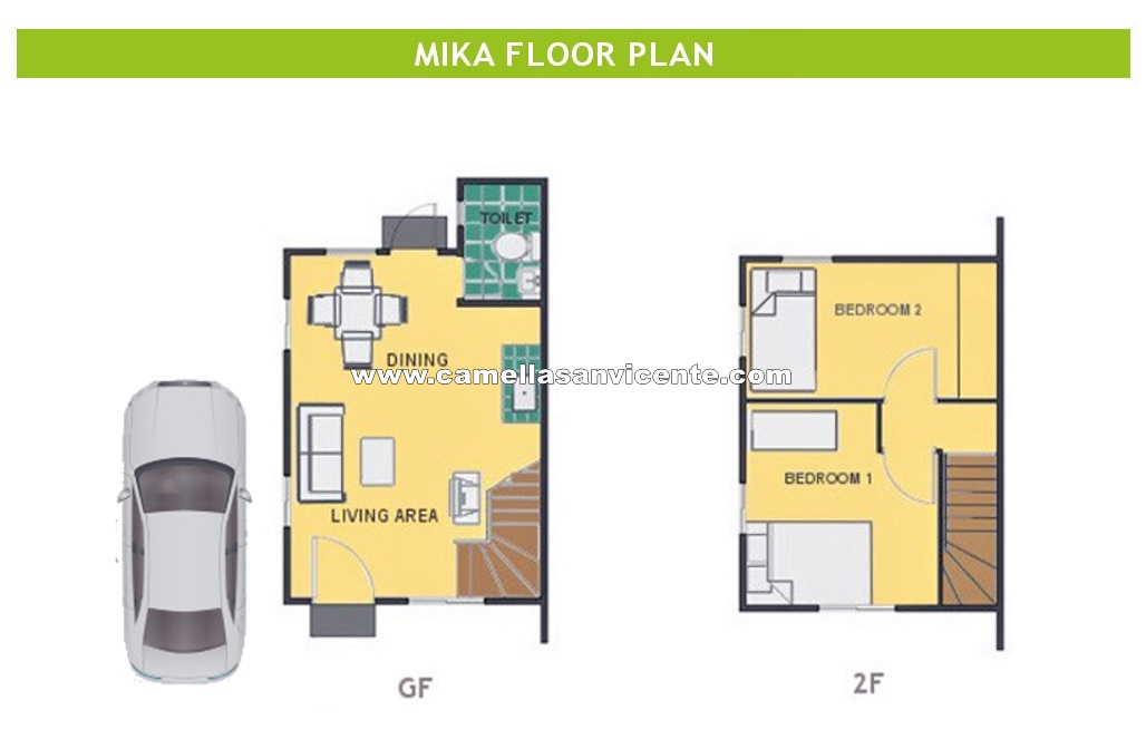 Mika  House for Sale in San Vicente