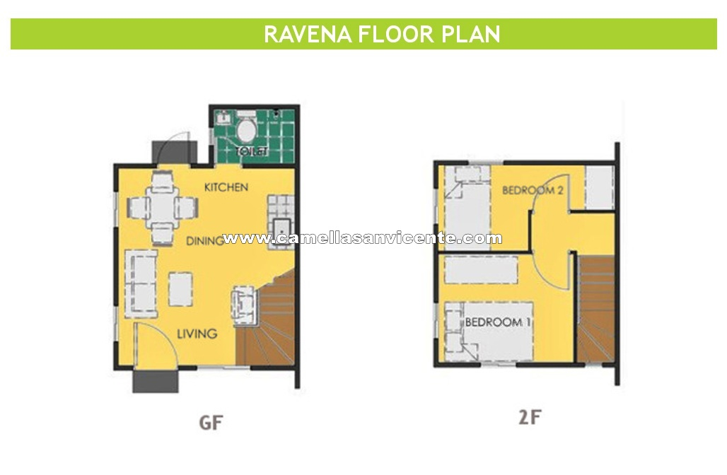 Ravena  House for Sale in San Vicente