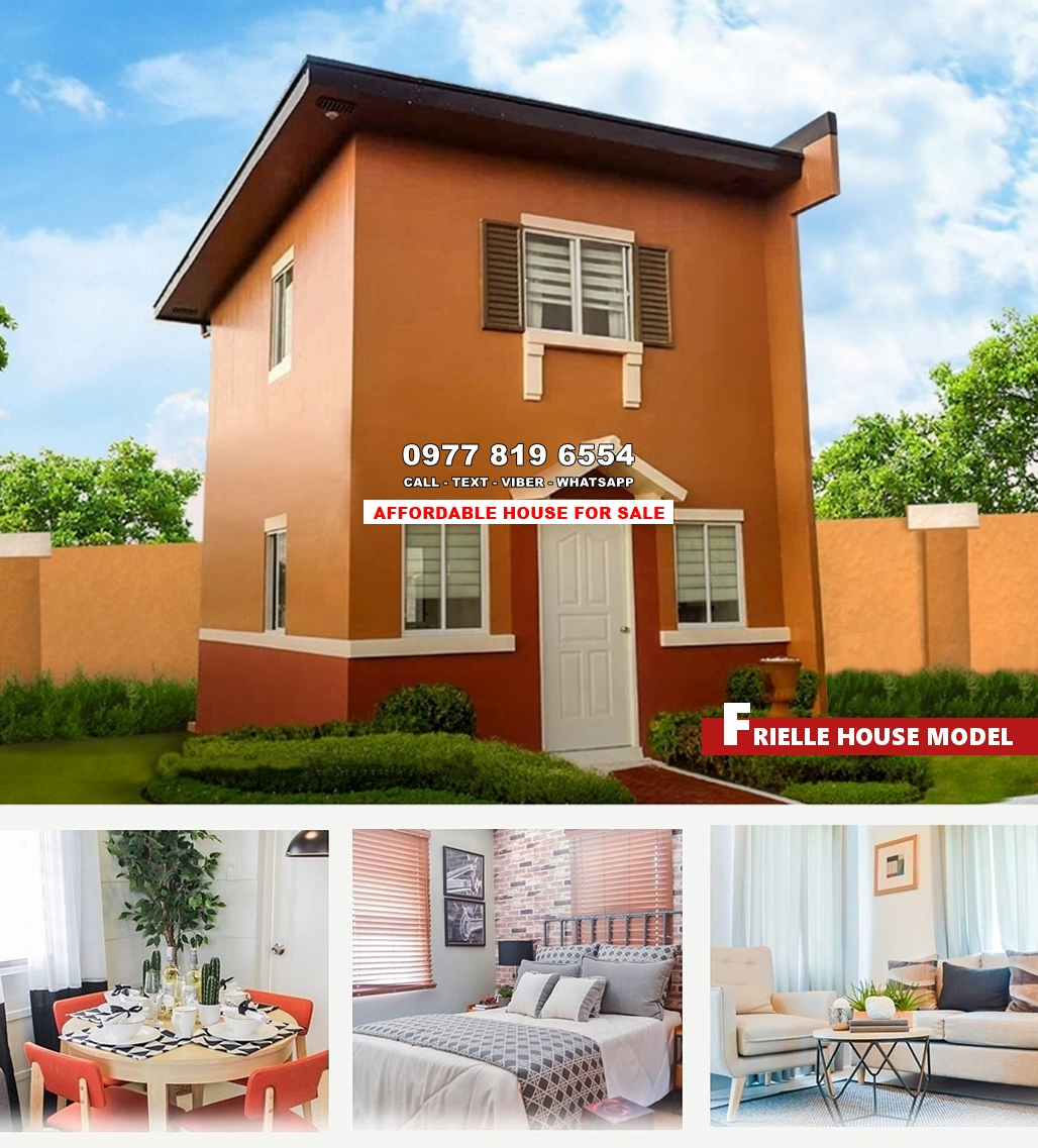 Frielle House for Sale in Camarines Norte